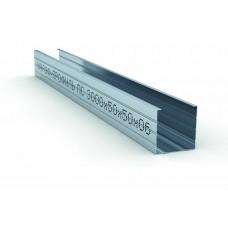 Профиль стоечный ПС 50х50х0.6мм L=3м Кнауф