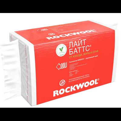 Утеплитель Роквул Лайт Баттс 1000х600х50мм (4,8м2) 8плит