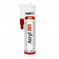 KIM TEC Acryl 201 Акриловый герметик белый