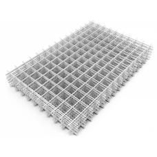 Сварная сетка Карта Оцинкованная кладочная 0,5х2м ячейка 60х60х2,5мм