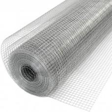 Штукатурная сетка оцинкованная 10х10х0,6мм рулон 1х15м