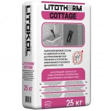 Монтажный клей Литокол Литотерм Коттедж 25 кг