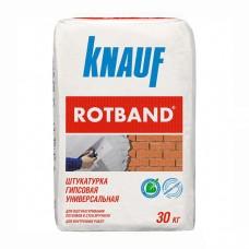 Универсальная гипсовая штукатурка Кнауф Ротбанд 30кг