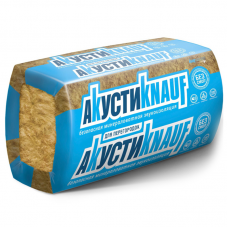 Кнауф Акустик Звукоизоляционная минеральная вата 1250х610х100мм (6,1м2 - 0,61м3)