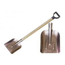 Лопата из рельсового метала совковая
