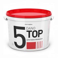 Готовая финишная шпатлевка Dano Top 5 10л