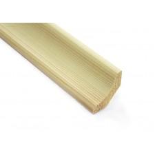 Плинтус деревянный 25х300мм